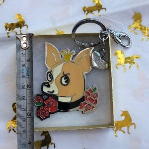 Fluff❤️Chihuahua Lovers Keychain✨NEW✨ with 🏷tag✨